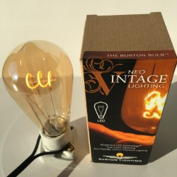 Burton Lighting Vintage Edison Style LED light bulb
